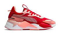 Женские кроссовки Puma RS-X Toys Bright Peach Red (пума рс-х, красные)