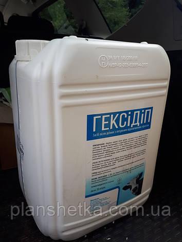 Средство для обработки вымени коров ГексиДип 20 кг, фото 2