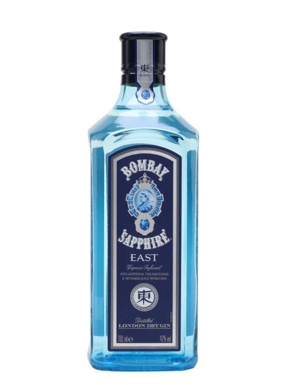 Джин Bombay Sapphire East (Бомбей Сапфир Ист) 42%, 1 литр
