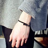 Женский браслет гвоздь черного цвета, Жіночий браслет гвіздок, Браслетик в форме гвоздя