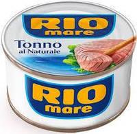 Тунець Rio Mare Natural 80 Г