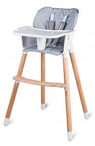 Крісло для годування Lionelo Koen Grey-Silver