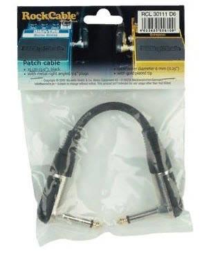 ROCKCABLE RCL30111 D6 Інструментальний патч-кабель для гітарних педалей, фото 2
