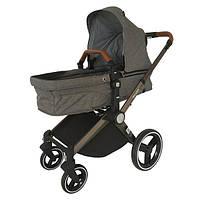 Детская универсальная коляска трансформер Welldon 3в1 WD007-2 Серый