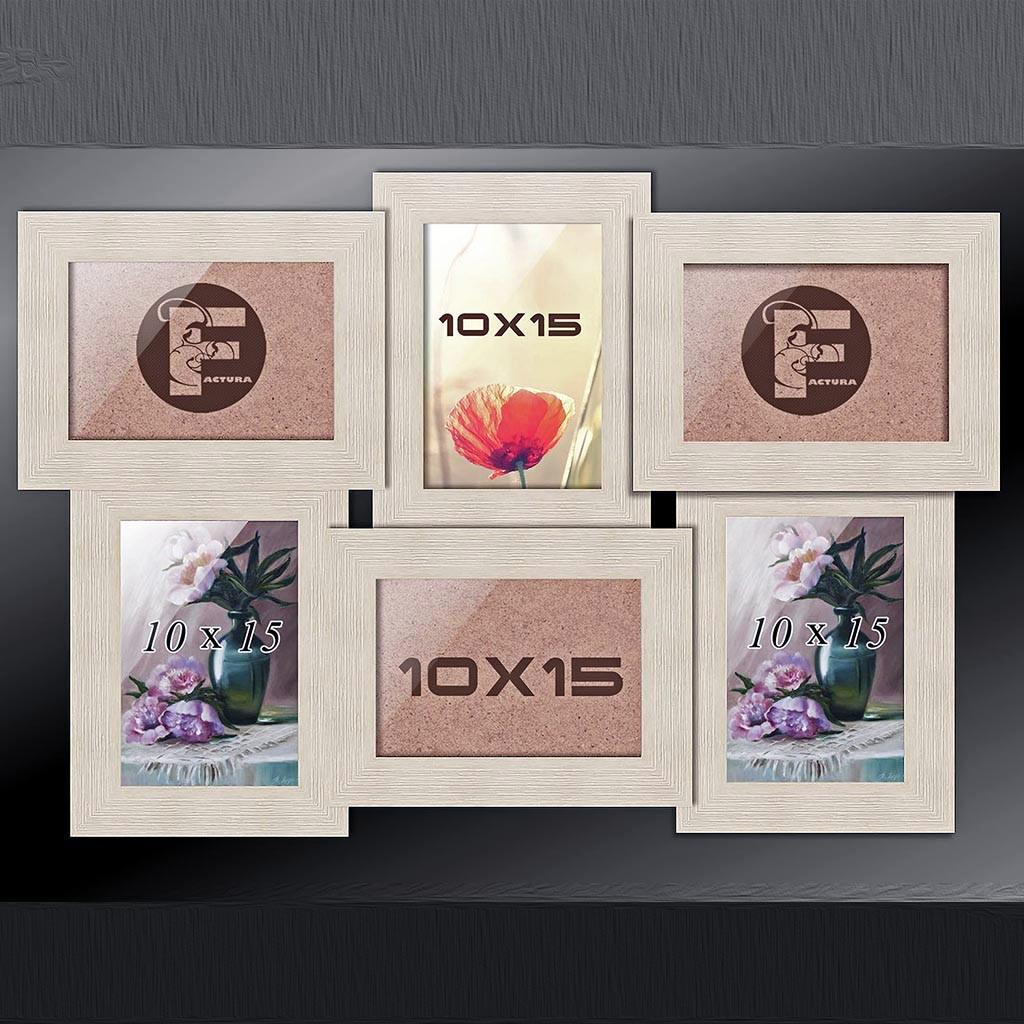 Фоторамка коллаж 6 в 1, мультирамка, фото коллажная рамка на 6 фото