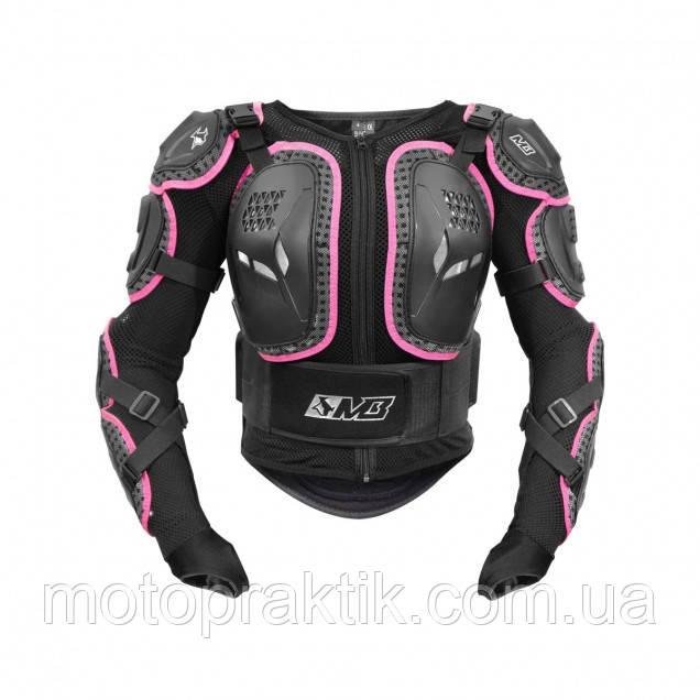 MADBULL ARMORA Women Protective Jacket Barbie, XS Моточерепаха защитная женская