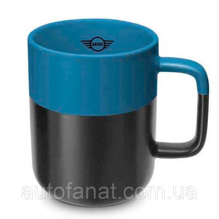 Оригинальная кружка MINI Colour Dip Cup, Black/Island (80282460903)