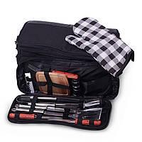 Термосумка Скаут 10.5л  сумка холодильник в комплекте с походным набором для пикника KM-0719, фото 1
