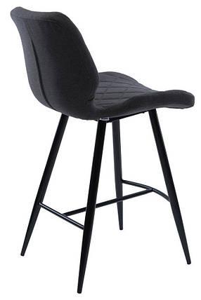 Полубарный стул Diamond серый графит TM Concepto, фото 2