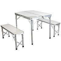 Стол раскладной + лавочки Grilland HXPT-8829-X