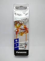 Наушники Panasonic RP-HJE118GU-D orange