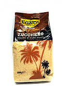 Сахар тростниковый Everton zucchero 1кг (Италия)