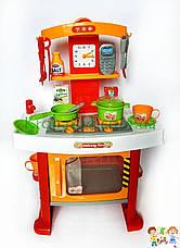 Детская игровая кухня 661-91 со световыми и звуковыми эффектами, размер 42-23-62,5 cм., фото 2