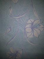 Обои Бумажные акриловые 0,53*10,05 Слобожанские  цветок , стена