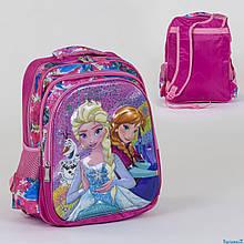 Школьный рюкзак Фрозен 3D принт