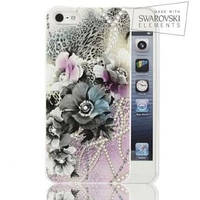 Чехол-накладка FaceCase SWAROVSKI iPhone 6 Vivid Flowers