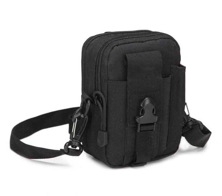 Сумка тактическая поясная, наплечная сумочка, органайзер, подсумок TacticBag черная