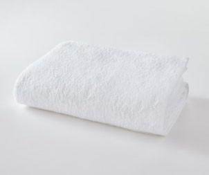 Простынь махровая 150х200 Белая