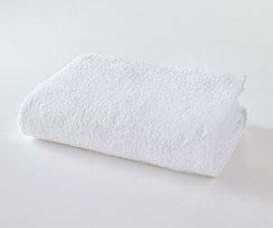Простынь махровая 150х200 Белая, фото 2