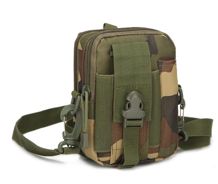 Сумка тактическая поясная, наплечная сумочка, органайзер, подсумок TacticBag вудленд