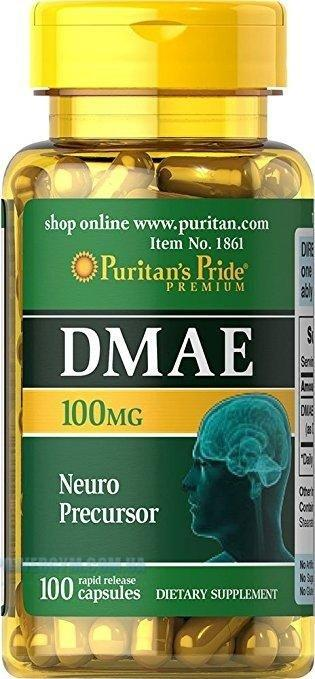 Для работы мозга DMAE (Neuro Precursor) 100мг 100 капсул