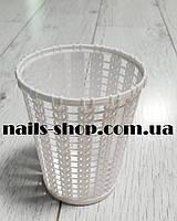 Стакан-подставка для маникюрных инструментов (белый), фото 1