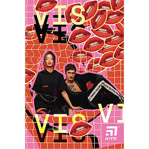 Блокнот Kite Время и Стекло VIS19-193-2, термобиндер, А5, 64 листов, фото 2