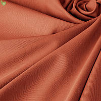 Однотонная декоративная ткань терракот Турция DRK-83164