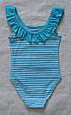 """Цельный купальник для девочки """"Style"""" р. 98, 104 (KEYZI, Польша), фото 4"""
