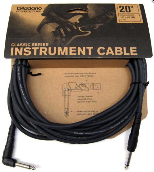 PLANET WAVES PW-CGTRA-20 Classic Series Instrument Cable 20ft Инструментальный кабель Classic Series