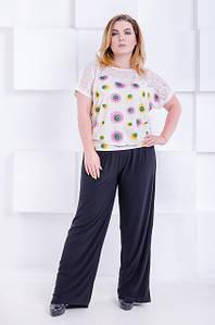 Классические женские брюки большого размера Casual 56-70 р
