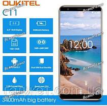 "Смартфон Oukitel C11 1/8Gb, 5.45"". 3400mAч Android 8,1 + бампер!!! Телефон, фото 3"