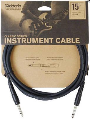 PLANET WAVES PW-CGT-15 Classic Series Instrument Cable 15ft Инструментальный кабель Classic Series, фото 2