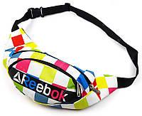 Поясная повседневная сумка Reebok реплика люкс качества