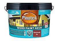 Краска на водной основе для деревянных фасадов Pinotex Wood Paint Aqua 9л (Красный)