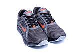 Мужские летние кроссовки сетка Nike  Grey (реплика), фото 4