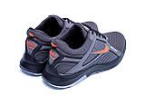 Мужские летние кроссовки сетка Nike  Grey (реплика), фото 6