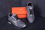 Мужские летние кроссовки сетка Nike  Grey (реплика), фото 8