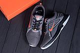 Мужские летние кроссовки сетка Nike  Grey (реплика), фото 9