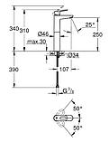 Grohe BauLoop Змішувач одинважільний для раковини XL-Size, фото 2