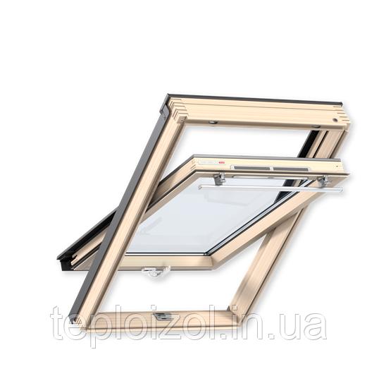 Мансардне вікно Velux (Велюкс) Стандарт Плюс 66х118 GLU 0061 В