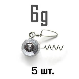 ШТОПОР ГРАНЁНЫЙ Fanatik  6 г. 5 шт.
