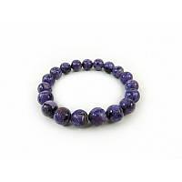 Браслет Чароит Изысканный браслет из натурального камня, красивый браслет