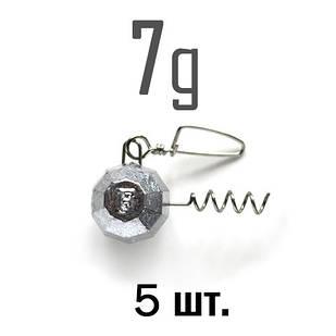 ШТОПОР ГРАНЁНЫЙ Fanatik  7 г. 5 шт.