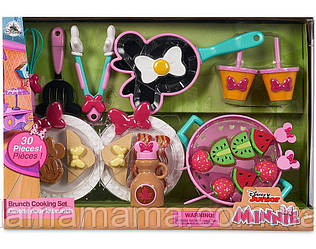 Игровой набор посуды и аксессуаров Кухня Минни Маус Brunch Cooking Set Disney Minnie Mouse