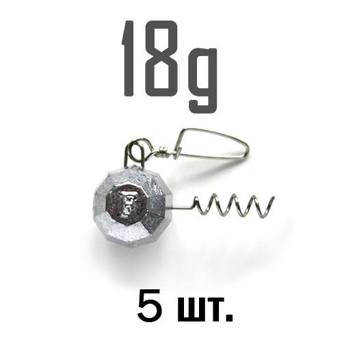 ШТОПОР ГРАНЁНЫЙ Fanatik  18 г. 5 шт.