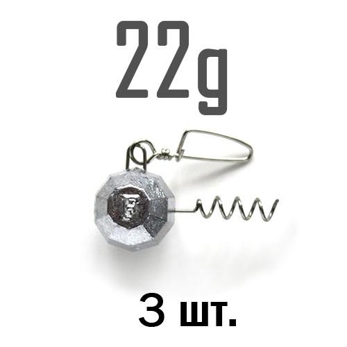 ШТОПОР ГРАНЁНЫЙ Fanatik  22 г. 3 шт.