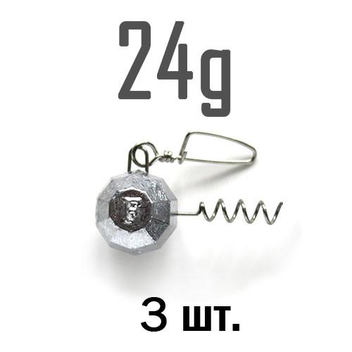 ШТОПОР ГРАНЁНЫЙ Fanatik  24 г. 3 шт.