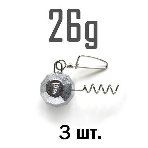 ШТОПОР ГРАНЁНЫЙ Fanatik  26 г. 3 шт.