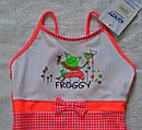 """Цельный купальник для девочки """"Froggy"""" р. 116 (KEYZI, Польша), фото 3"""